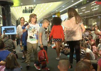Kids Fashion Show in mall Promenada