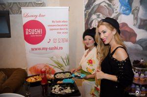 Dieta cu sushi, secretul frumusetii lui Annes