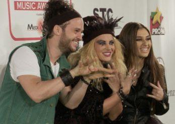 Vedete pe covorul verde: decernarea premiilor Media Music Awards