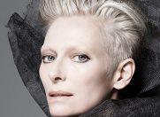 Tilda Swinton, imaginea produselor Nars pentru primavara 2015
