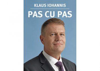 Presedintele Romaniei, Klaus Iohannis si-a lansat prima carte