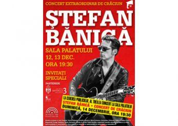 Stefan Banica va continua traditia concertelor la Sala Palatului