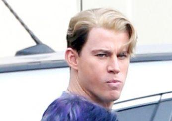 Channing Tatum si-a decolorat parul