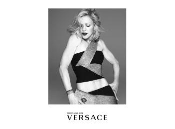Madonna, imaginea campaniei Versace de primavara/vara 2015