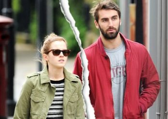Emma Watson s-a despartit de iubitul ei