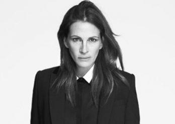 Julia Roberts a pozat pentru campania Givenchy