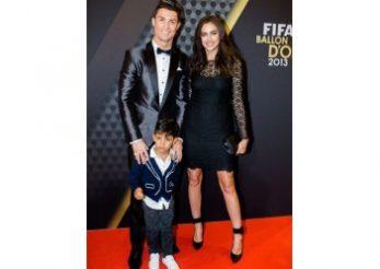 Cristiano Ronaldo si Irina Shayk: o familie moderna