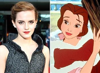 "Emma Watson va juca intr-o noua versiune a basmului ""Beauty and the Beast"""