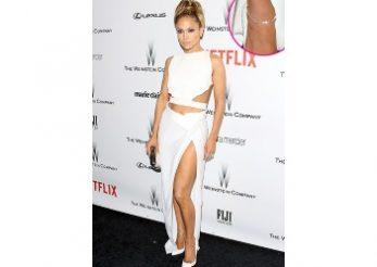 Jennifer Lopez si moda bratarilor de glezna