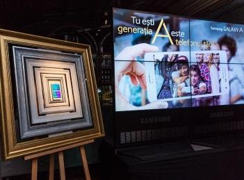 Samsung Galaxy A, lansat la inaltime