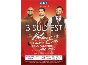 3 Sud Est va concerta pe 5 martie la Sala Palatului
