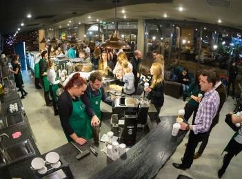 Starbucks aduce gama de lux Reserve in Romania