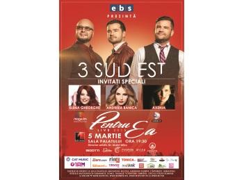 Invitati speciali la concertul trupei 3 Sud Est de la Sala Palatului