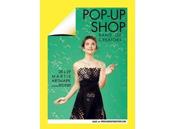 Colectiile de primavara ale designerilor romani – la pop-up shop-ul Band of Creators