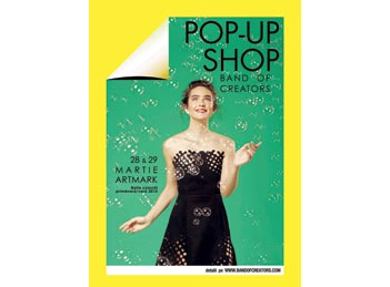 Colectiile de primavara ale designerilor romani – la pop-up shop-ul Band of Creators