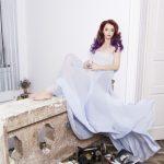 Ana Novic, creatoarea de moda din spatele rochiilor pictate
