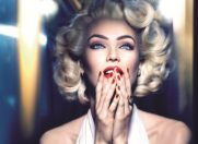 Candice Swanepoel, Marilyn Monroe si Max Factor