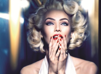 Candice Swanepoel, Marilyn Monroe si Max Factor