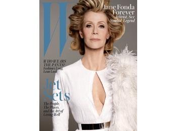 Jane Fonda, pe coperta unei reviste celebre la 77 de ani
