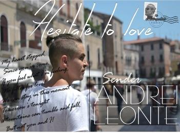 Andrei Leonte, prima piesa in limba engleza