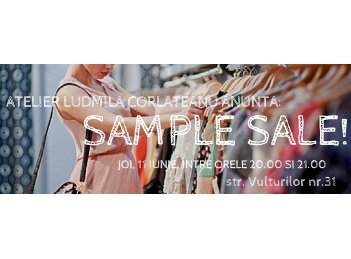 Sample Sale by Ludmila Corlateanu