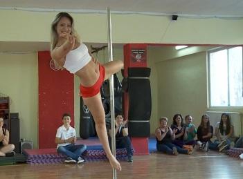 Dansul la bara, un nou tip de fitness