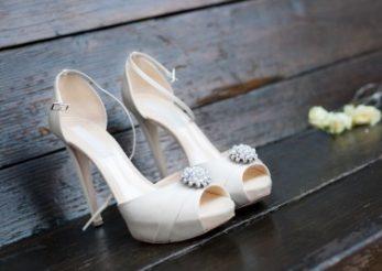 Cum iti alegi pantofii de mireasa in functie de rochie si de constitutia corpului