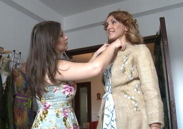 Claudia Rawlings, accente britanice in moda romaneasca