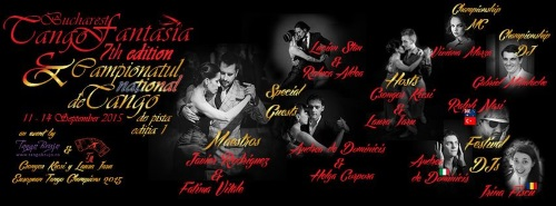 """Festivalul """"Bucharest Tango Fantasia Secrets"""" a ajuns la editia cu numarul sapte"""