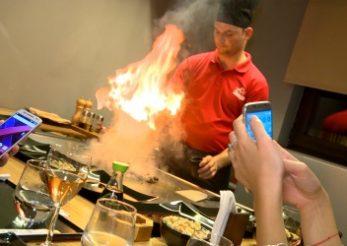 "Sesiune de ""live cooking"" la Zen Sushi Dorobanti"