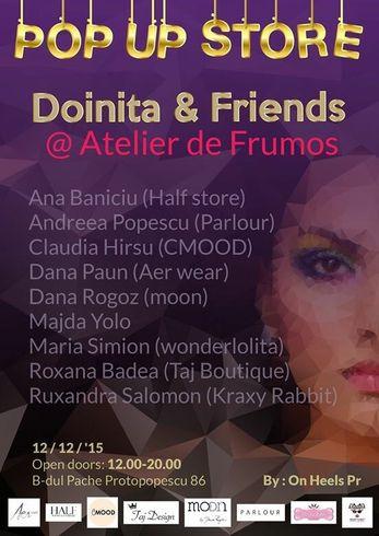 Doinita & Friends @Atelier de Frumos