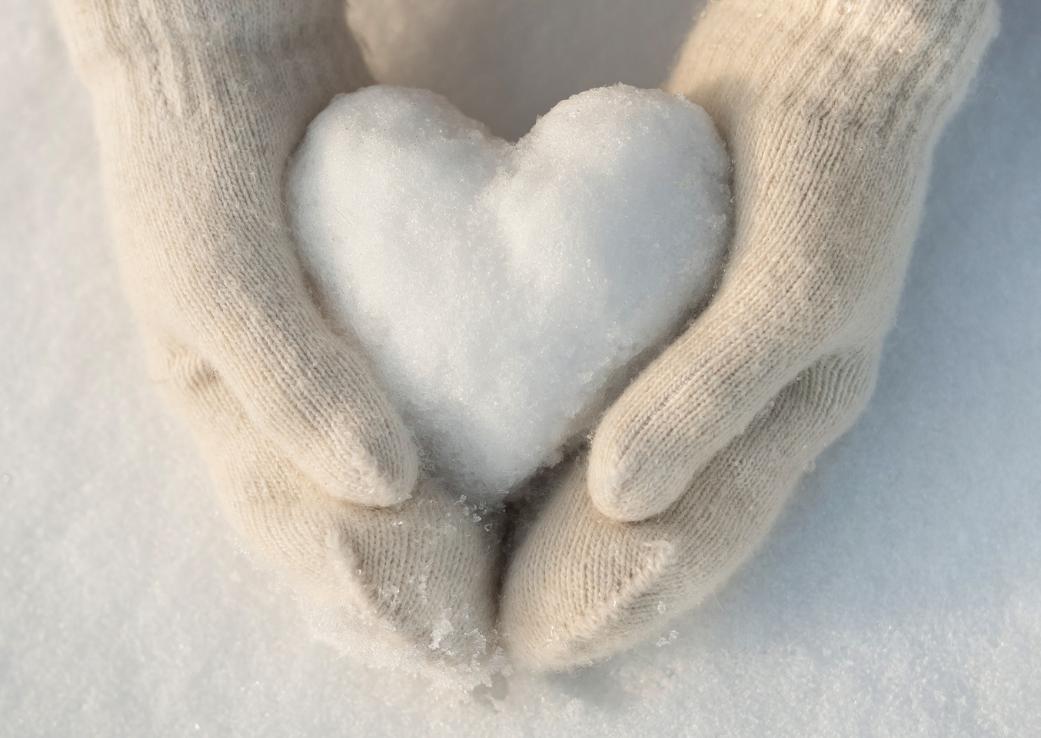 Zăpada, de la joacă la terapie