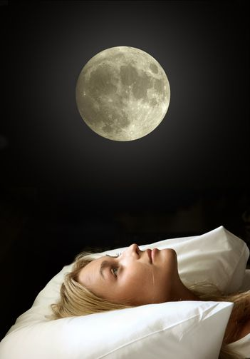 Luna plina ne influenteaza starea de sanatate