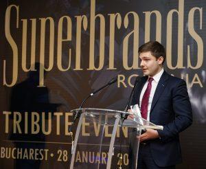 CATENA, distinsa cu Trofeul SUPERBRANDS Romania in 2015