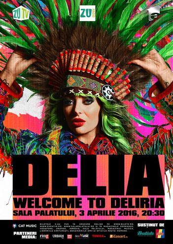Welcome to Deliria, pe 2 si 3 aprilie la Sala Palatului