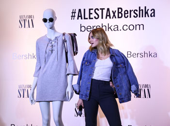 Alexandra Stan s-a lansat in moda
