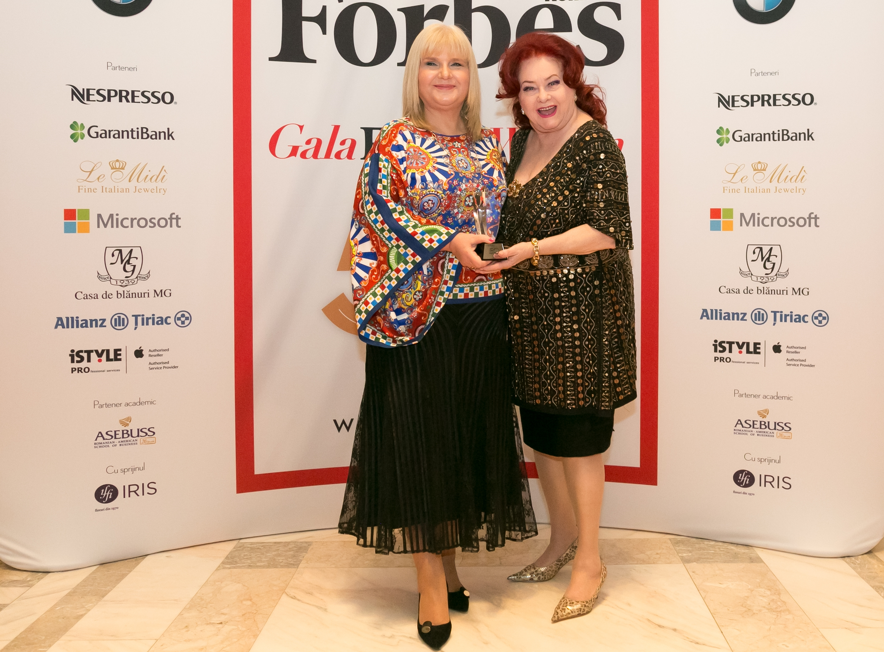 Cele mai influente femei, premiate in cadrul Galei Forbes Woman 2016
