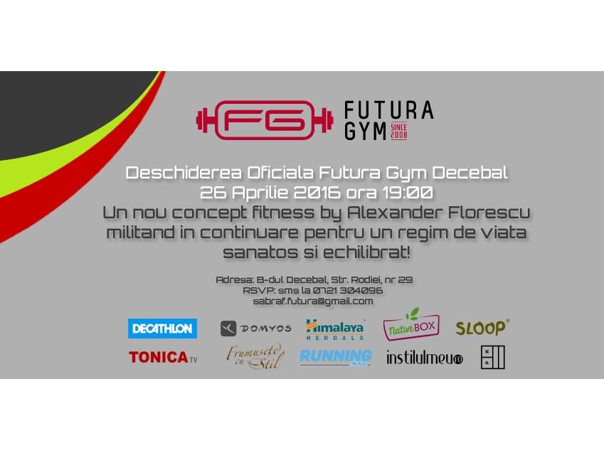 Un nou sediu Futura Gym in Capitala