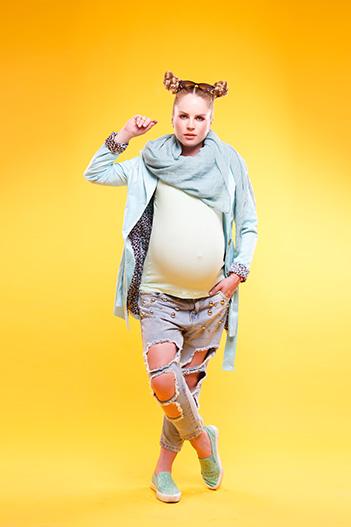 O noua etapa: hainele cu burtica