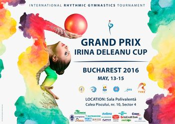 Primul Grand Prix International de gimnastica ritmica din Romania