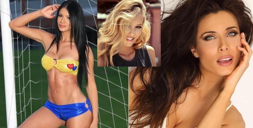Meci de frumusete intre cele mai sexy iubite de fotbalisti de la EURO 2016