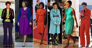 Michelle Obama, Prima Doamna in moda