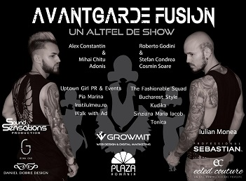 Avangarde Fusion, un show inedit de hairstyling