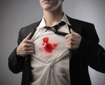 curatare sange uscat