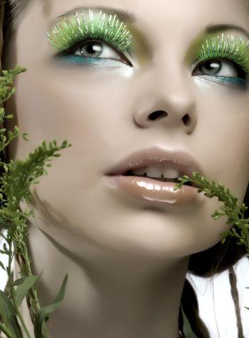Machiajul de seara pentru ochii verzi