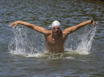 Paul Georgescu, campion la traversarea Canalului Manecii