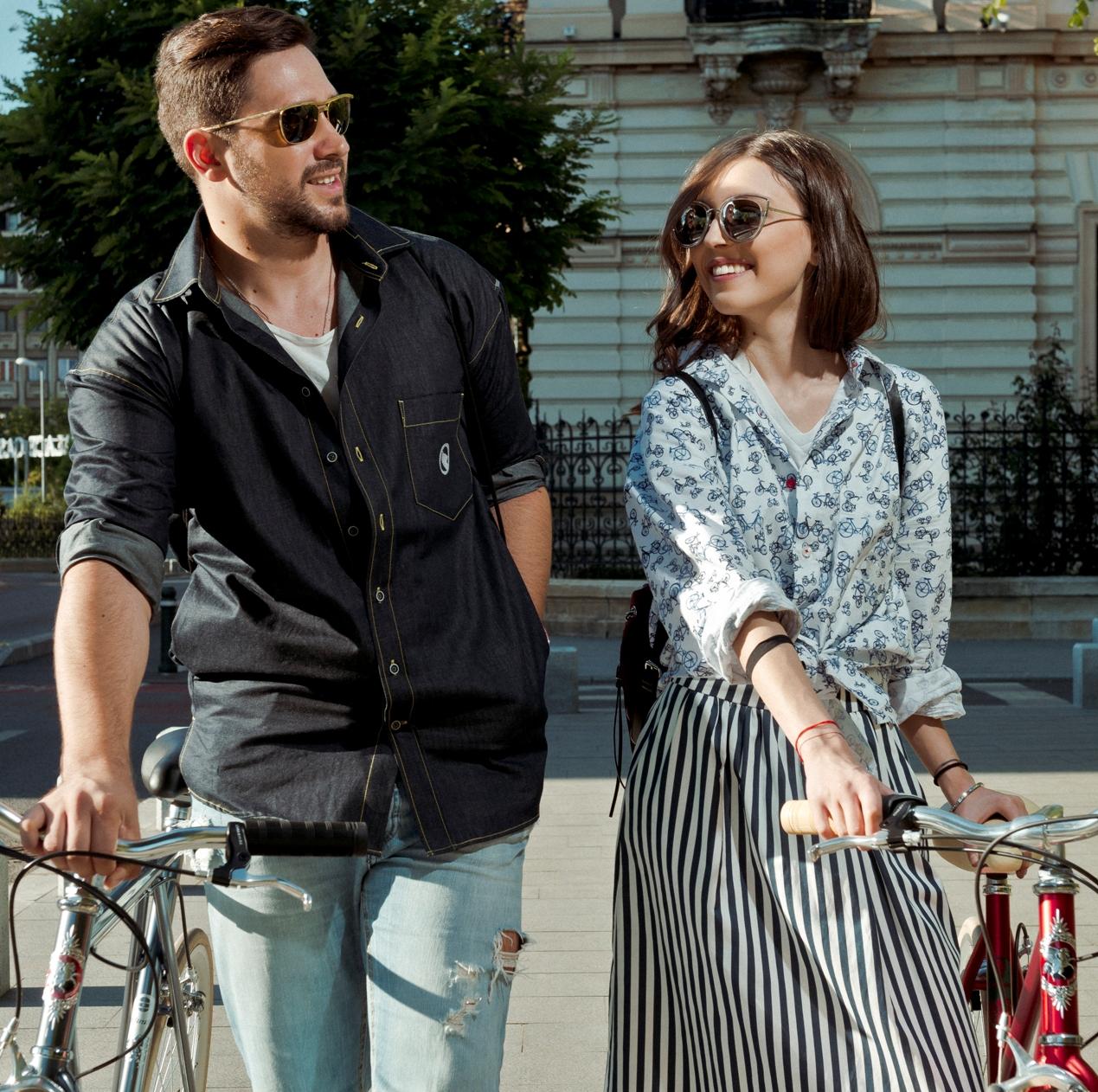 Colectie de camasi pentru biciclisti semnata Braiconf si Atelierele Pegas