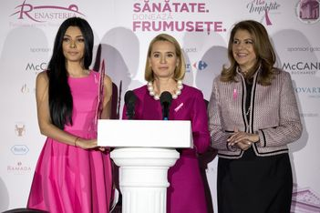 "Mihaela Geoana: ""O femeie informata este o femeie sanatoasa!"""
