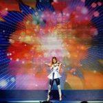Andreea Runceanu, din trupa Amadeus, a cantat pentru Mike Tyson