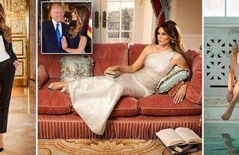 Casa in care sotia lui Donald Trump se simte ca o regina: traieste intr-un palat din aur si marmura!